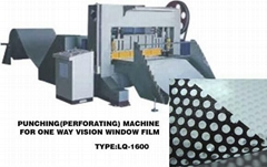 perforation machine for one way vision window film