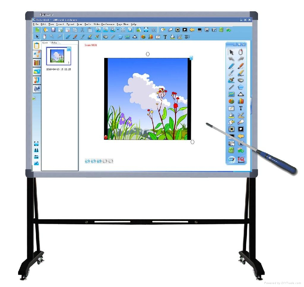 iqboard et v7 interactive whiteboard - Electronic Whiteboard