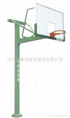 JYJ-1010B  方管独臂篮球架