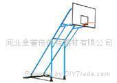 铸铁配重式篮球架