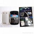Blackberry Silicone Case+Screen