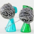 Spiral Stainless Steel Scourer With