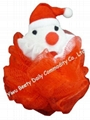 Christmas Santa Claus Animal Bath Sponge(YQ1036)