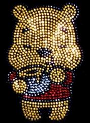 玩具熊烫图