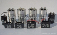 Metalized Polypropylene AC Motor Capacitors (CBB65/CBB61/CBB60)