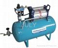 air driven oxygen booster