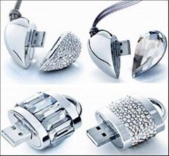 DiamondHeart DiamondLock USB Flash Disk