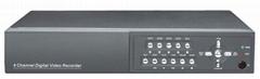 4路網絡硬盤錄像機帶網絡帶VGA