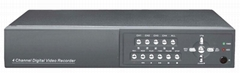 4-Channel DVR with LAN and VGA