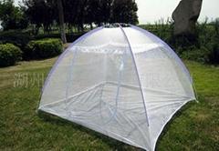 Mongolian yurt mosquito net