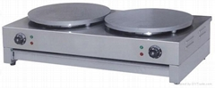 Crepe Maker Double (electric and gas)
