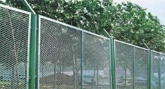 勾花网 体育场围网 防护网