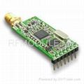 20 dBm RF GFSK transceiver module
