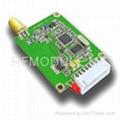27 dBm high power RF GFSK transceiver