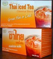 Thai iced tea - tea bag