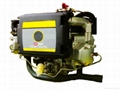 22hp v-twin cylinder air-cooled diesel engine 4