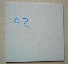 30*30 cm unpolish floor tile (salt and peper )
