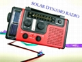 solar dynamo radio with mobile phone charger