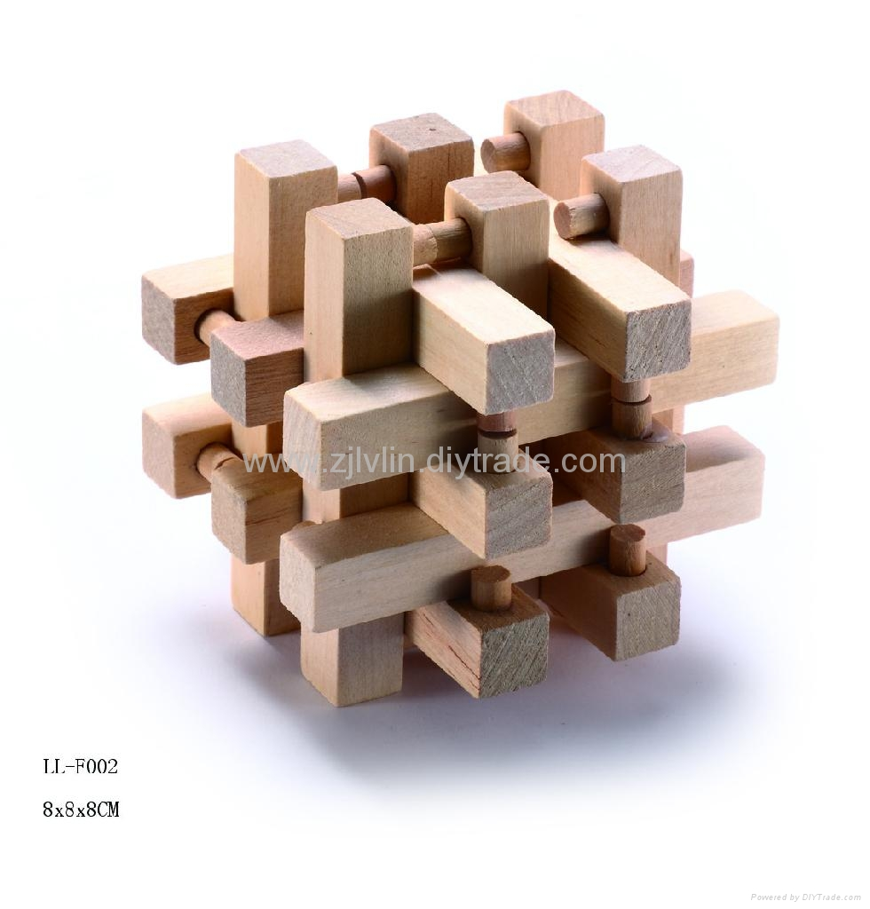 Wood Puzzle Solutions http://www.diytrade.com/china/pd/7428362/Brain_benders_wood_puzzles.html