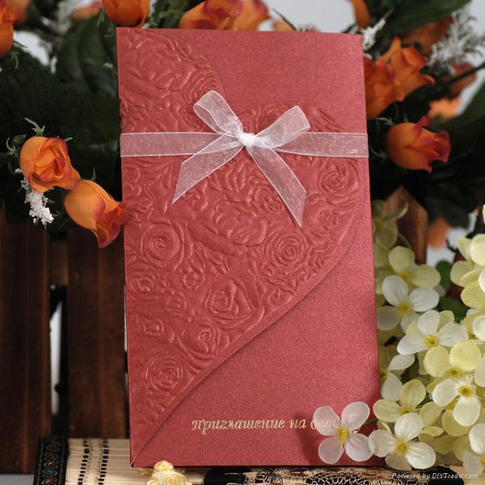 Wedding Invitations From China: Wedding Invitation Cards