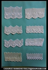 EMBROIDERY LACE/EYELET TRIM