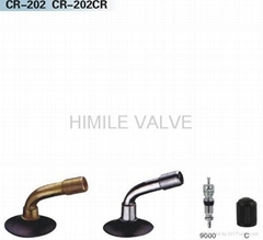 Electric Motorcycle tyre valves