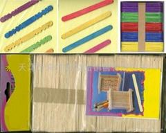 craft sticks with multi color