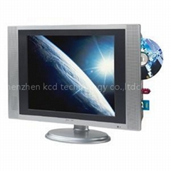 multi-media new style 17 lcd tv combo dvd /sd/usb oem factory
