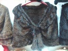 皮草服裝,水貂披肩