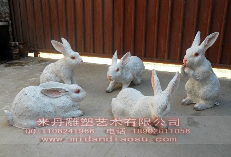 供应仿真动物雕塑模型:绵羊