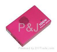 DC/AC Car Power Inverter Portable Mini 100*65*17mm