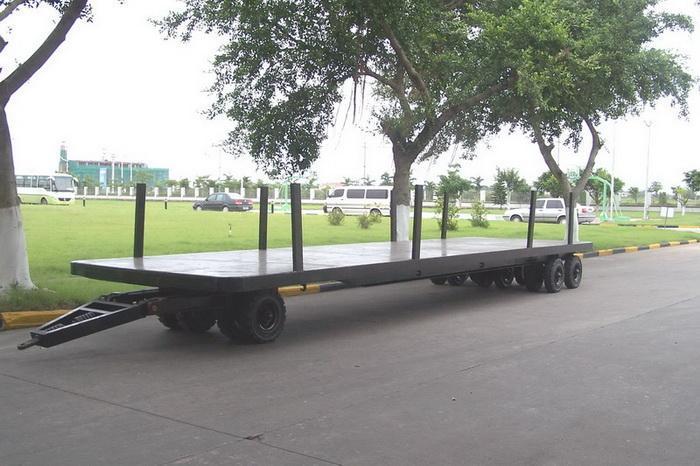 全挂平板拖车 1