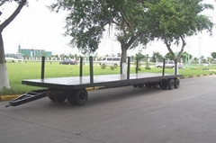全挂平板拖車