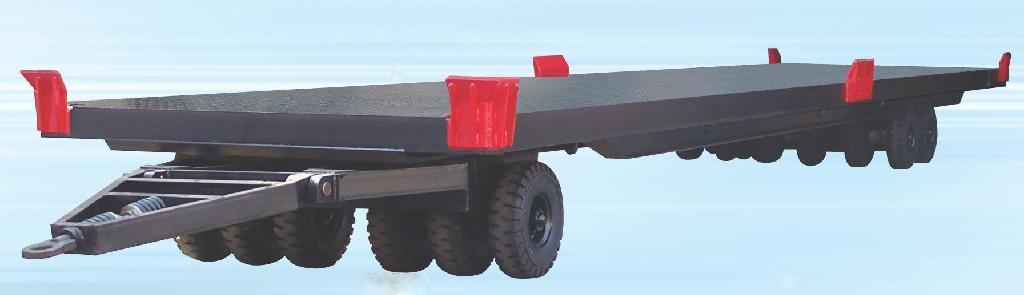 全挂平板拖车 2