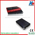 Solar mobile phone charger with radio and UV money-detector function 4