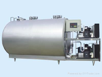 Milk  cooling storage tank  1
