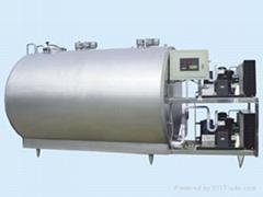 Milk  cooling storage tank