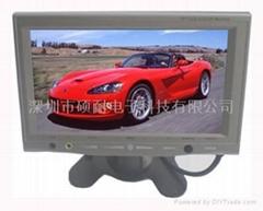 Jeacar 品牌7寸车载液晶高清显示器