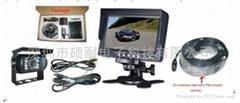 7寸台式高清显示器卡车大巴车后视系统