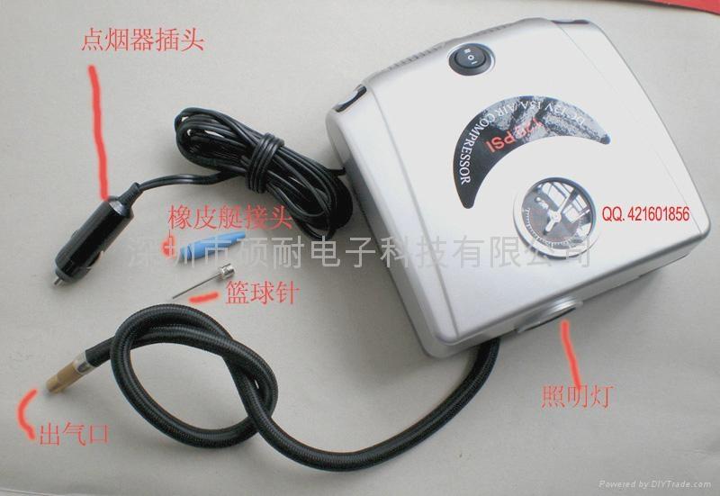 便携式汽车轮胎充气泵 1