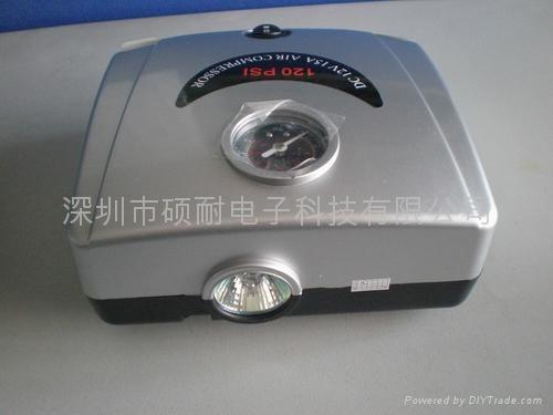 便携式汽车轮胎充气泵 2