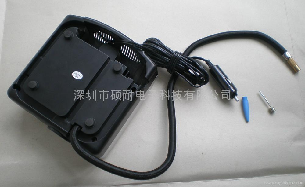 便携式汽车轮胎充气泵 4