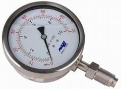 抗震隔膜压力表