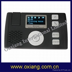 Bluetooth  handsfree car kit with solar charging