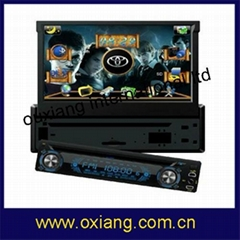 "1Din Car DVD with 7""(16:9)touch screen monitor"