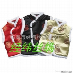 唐装马甲夹袄棉衣