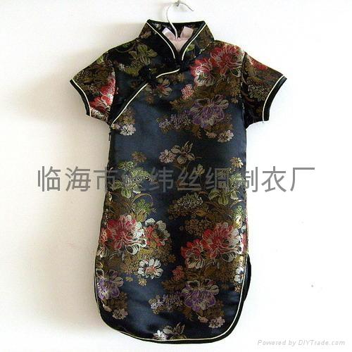 富贵牡丹公主儿童旗袍 3