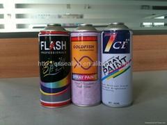 4 color CMYK printing aerosol spray