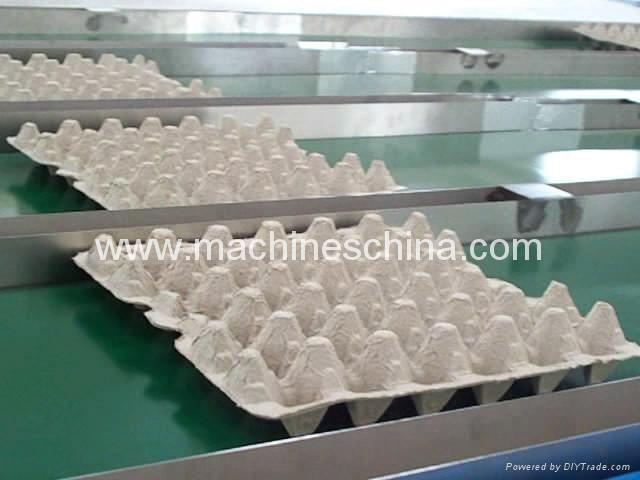 Egg Tray Machine Egg Carton Machinery Plant 600 trays or cartons / hr