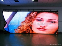 flexible or soft led screen for backdrop lighting in club or bar!